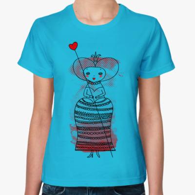 Женская футболка Queen of Hearts, Alice's Adventures in Wonderland