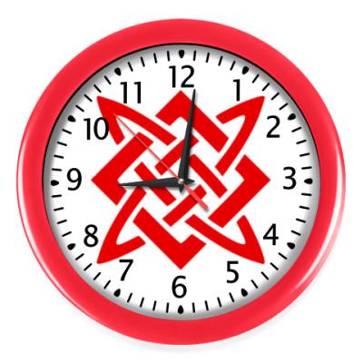 Настенные часы Звезда Руси (Сварогов Квадрат)