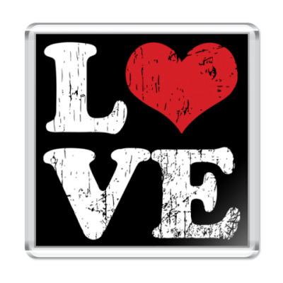 Магнит Love