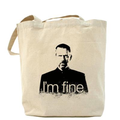 Сумка Im fine Холщовая сумка