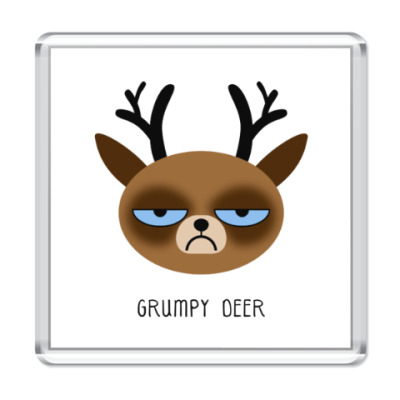 Магнит Grumpy Animals