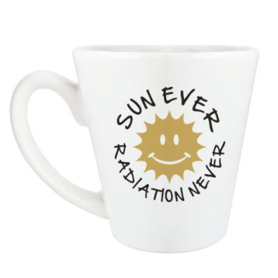 Чашка Латте Солнце всегда