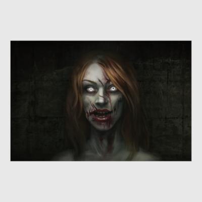 Постер Зомби-девушка