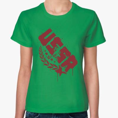 Женская футболка USSR