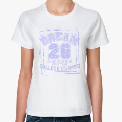 Классическая футболка College
