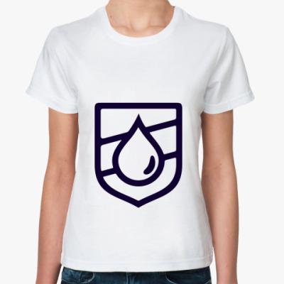 Классическая футболка Droplet Emblem