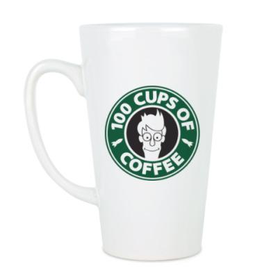 Чашка Латте Futurama coffee Starbucks
