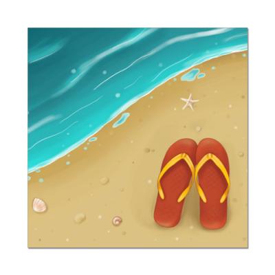Наклейка (стикер) для любителей моря