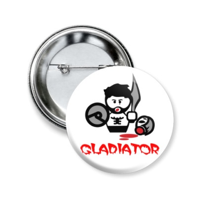 Значок 50мм Гладиатор