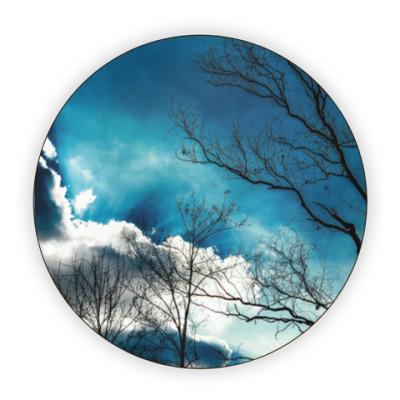 Костер (подставка под кружку) Небо и ветки