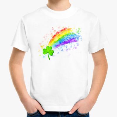 Детская футболка На удачу!