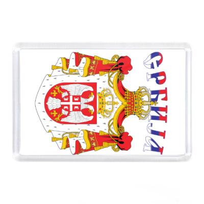 Магнит Большой герб Сербии