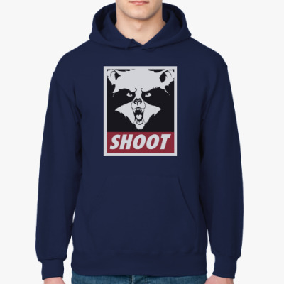 Толстовка худи Raccoon Shoot