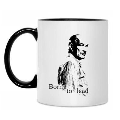Кружка Born to lead