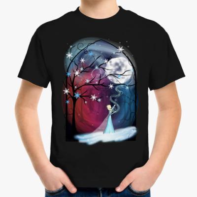 Детская футболка Королева Эльза