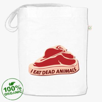 Сумка I eat dead animals