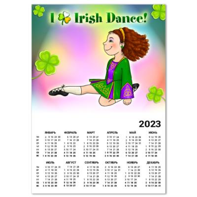 Календарь Irish Dance
