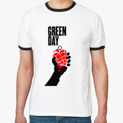 Футболка Ringer-T  Green Day