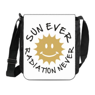 Сумка на плечо (мини-планшет) Солнце всегда