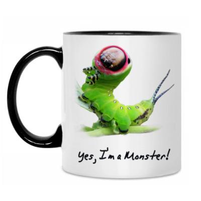 Кружка Yes, I'm a Monster!