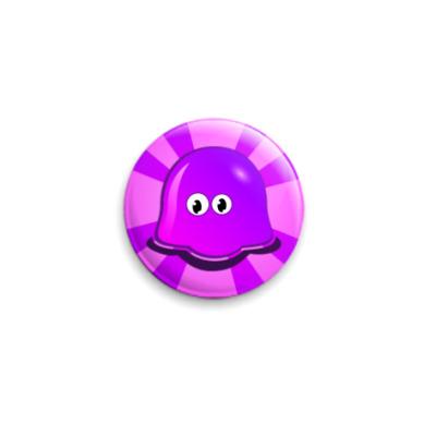Значок 25мм Призрак медузы