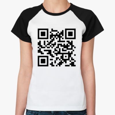 Женская футболка реглан '8-bit love'