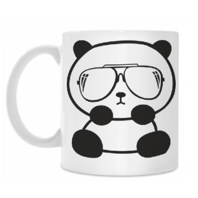 Кружка Панда в очках