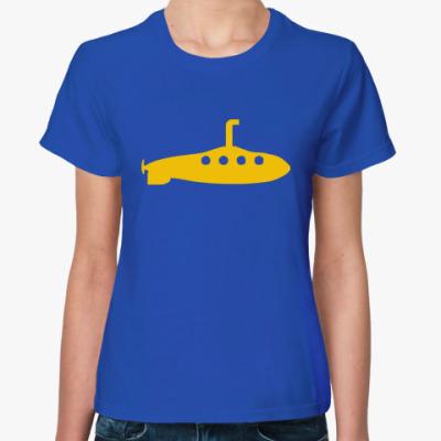 Женская футболка Yellow Submarine