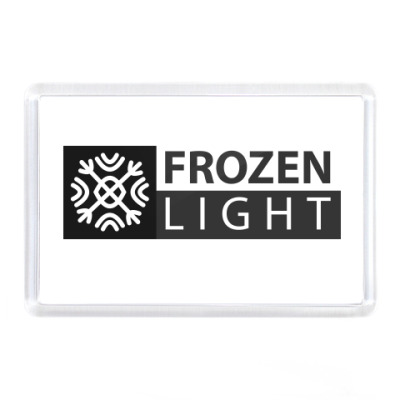 Магнит логотип frozenlight