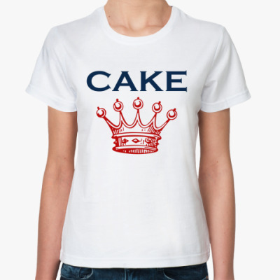 Классическая футболка Cake