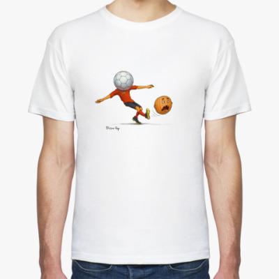Футболка Тыква футбол soccer