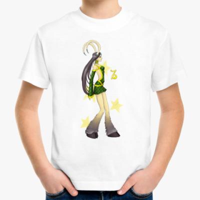 Детская футболка 'Козерог'