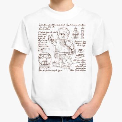 Детская футболка Схема Лего
