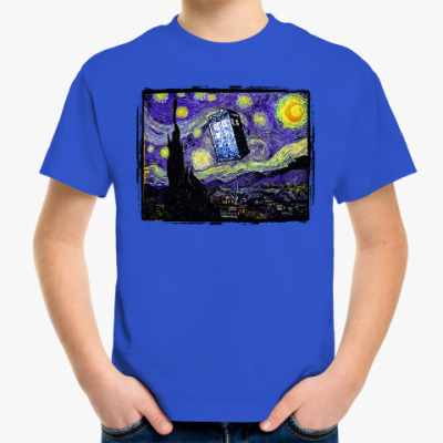 Детская футболка Тардис