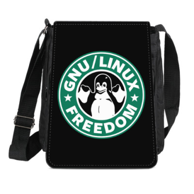 Сумка-планшет GNU Linux Freedom