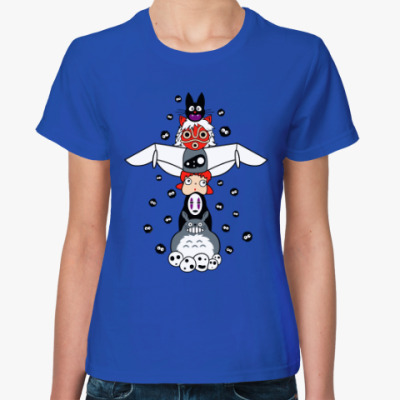 Женская футболка Тотем