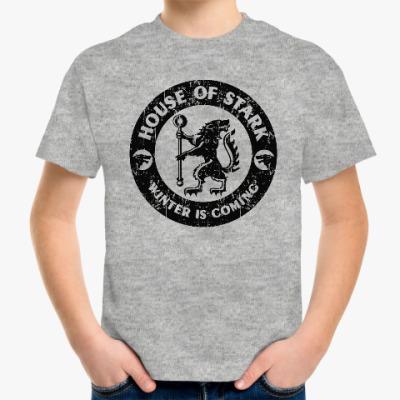 Детская футболка Игра престолов.Старки