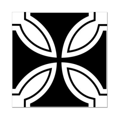 Наклейка (стикер)   iron cross