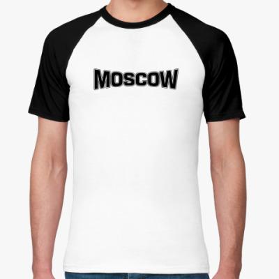 Футболка реглан Москва
