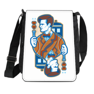 Сумка-планшет Одиннадцатый Доктор