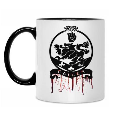 Кружка Bloody Cullen emblem