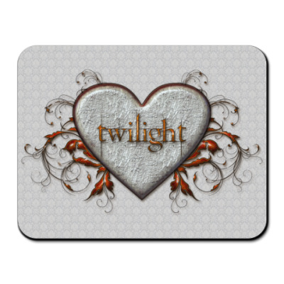 Коврик для мыши Twilight heart