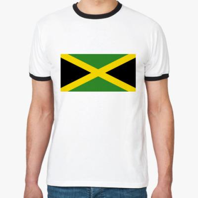 Футболка Ringer-T  Ямайка