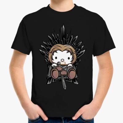 Детская футболка Кити Старк