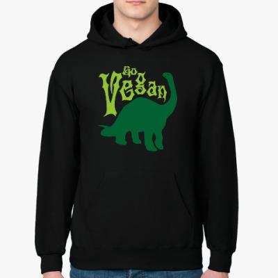 Толстовка худи Go Vegan