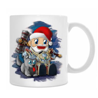 Кружка Santa dwarf