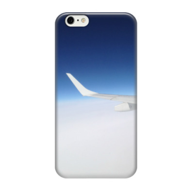 Чехол для iPhone 6/6s Крыло самолета
