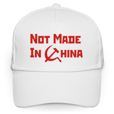 Кепка бейсболка Not Made In China