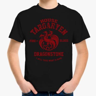Детская футболка Игра престолов.Таргариены