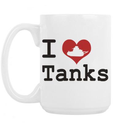 Кружка I Like Tanks